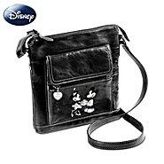 The Bradford Exchange Disney Retro Mickey And Minnie Crossbody Bag at Sears.com