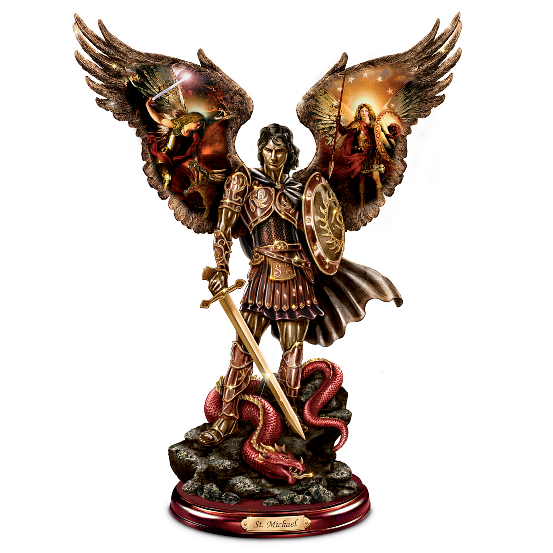 The Bradford Exchange Michael: Triumphant Warrior Bronze Sculpture at Sears.com