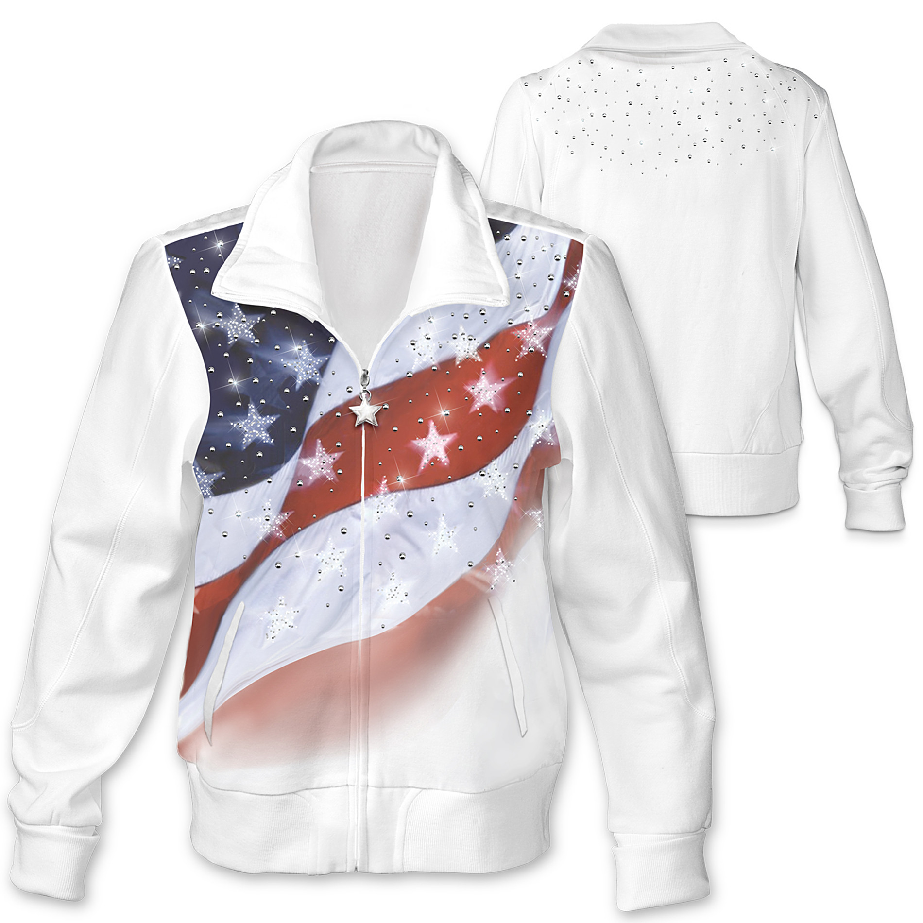 The Bradford Exchange Women's Jacket: American Sparkle at Sears.com
