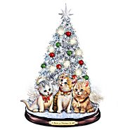 The Bradford Exchange Tabletop Christmas Tree: A Meow-y Christmas To All Tabletop Christmas Tree at Sears.com