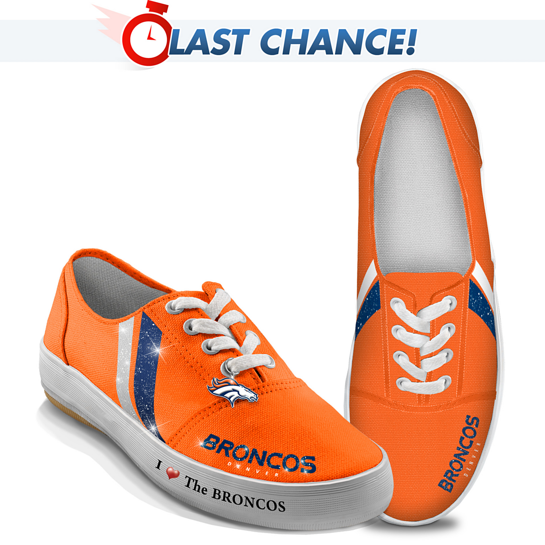 The Bradford Exchange Women's Shoes: I Love The Broncos Women's Shoes at Sears.com