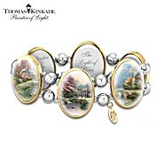The Bradford Exchange Thomas Kinkade Bracelet: Moments Of Inspiration at Sears.com
