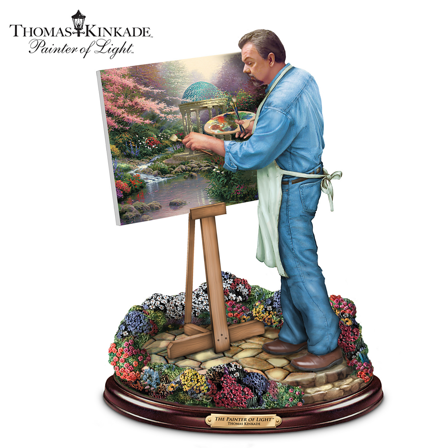 The Bradford Exchange Thomas Kinkade Painter Of Light Sculpture at Sears.com