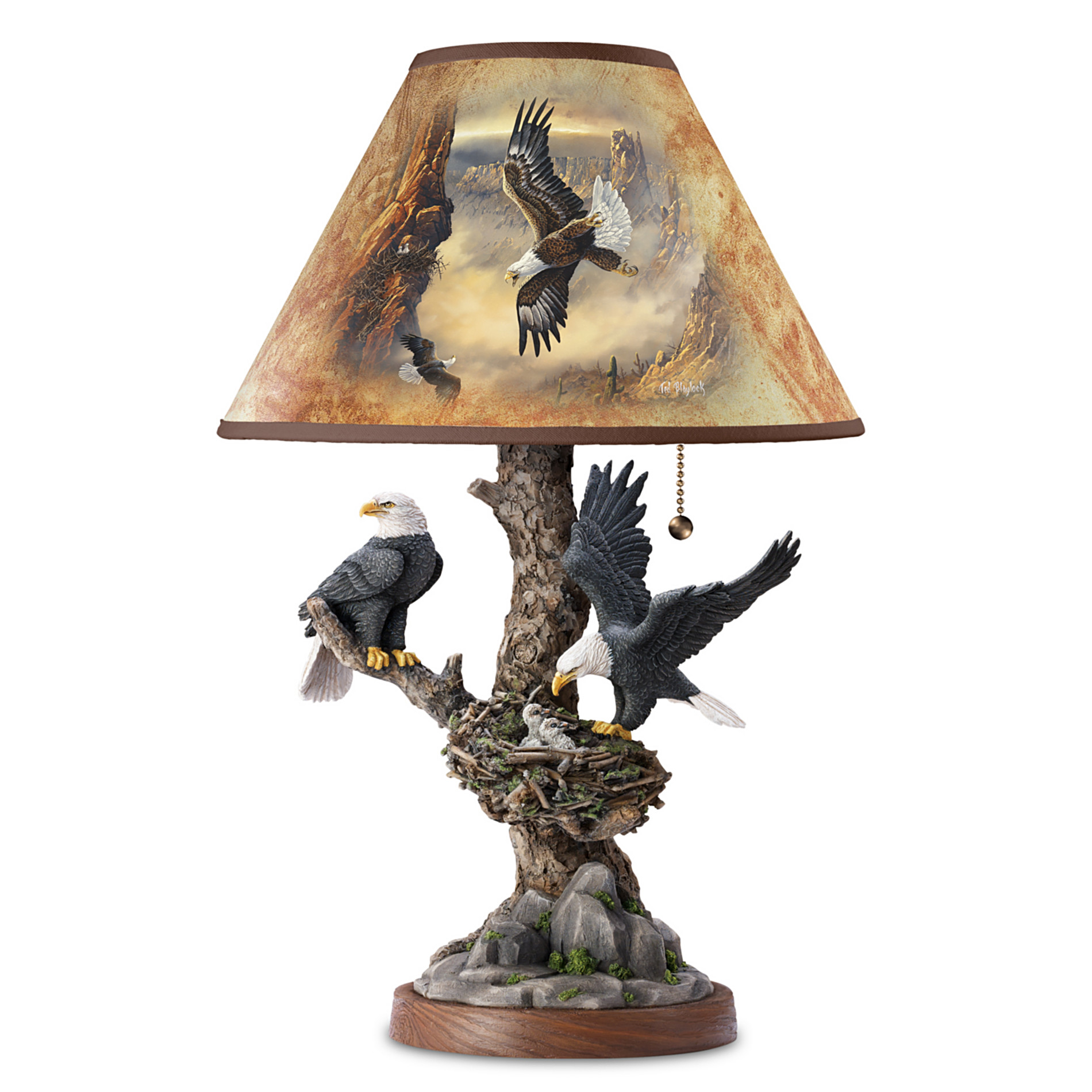The Bradford Exchange Lamp: Treetop Majesty Lamp at Sears.com