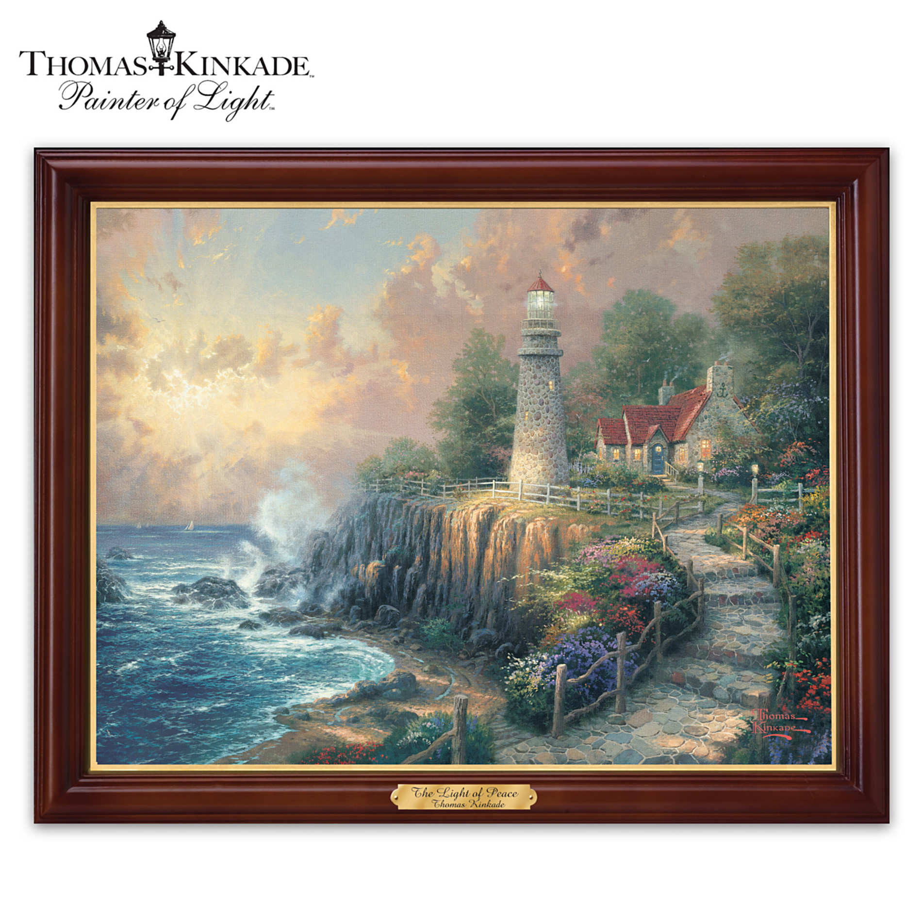 The Bradford Exchange Wall Decor: Thomas Kinkade The Light Of Peace Wall Decor at Sears.com
