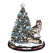 The Bradford Exchange Tabletop Christmas Tree: Winter's Majesty Tabletop Christmas Tree at Sears.com