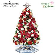 The Bradford Exchange Tabletop Tree: Thomas Kinkade Home For The Holidays Tabletop Tree at Sears.com