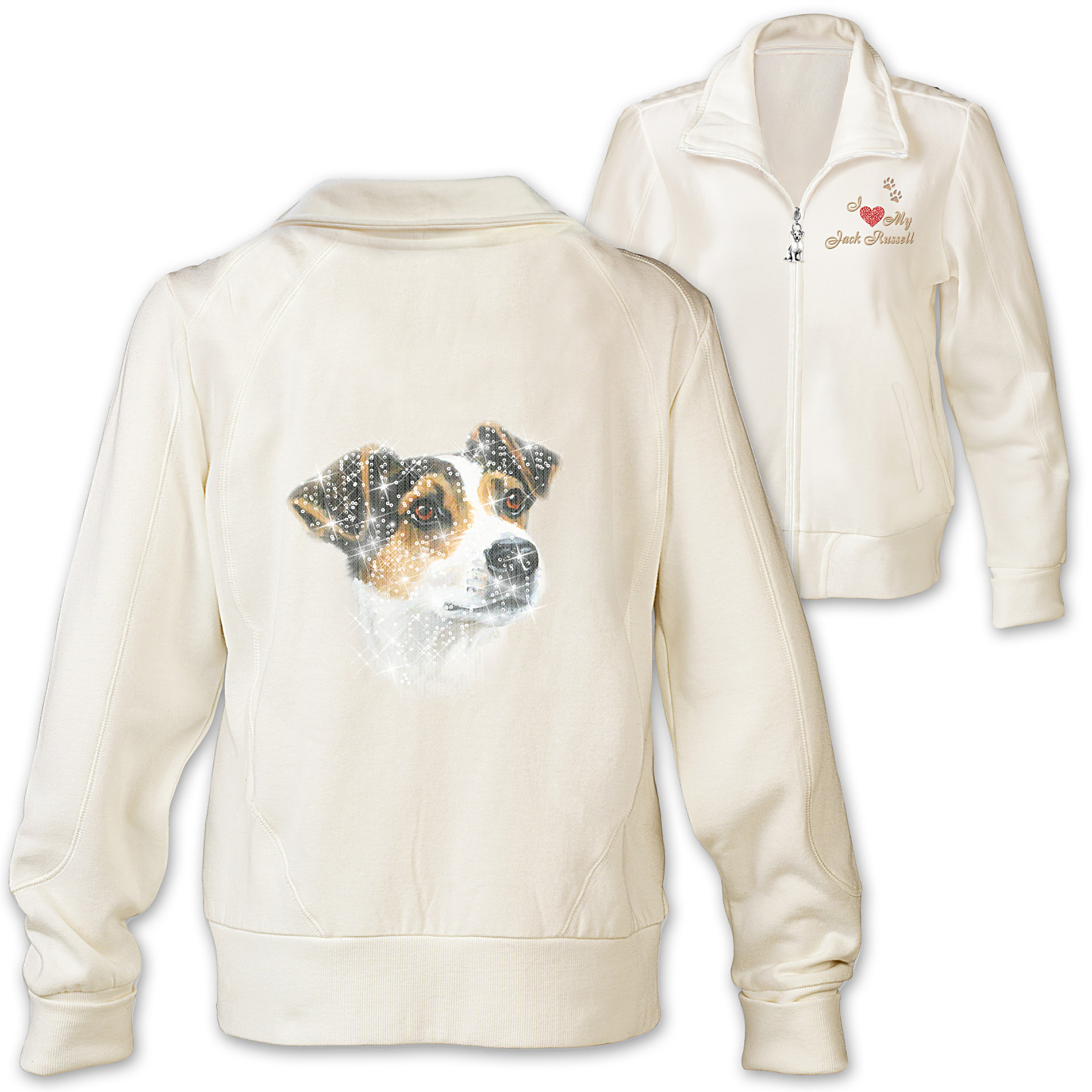The Bradford Exchange Women's Jacket: Doggone Cute Jack Russell Women's Jacket at Sears.com