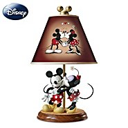 The Bradford Exchange Lamp: Disney Mickey And Minnie Sweethearts Lamp at Sears.com