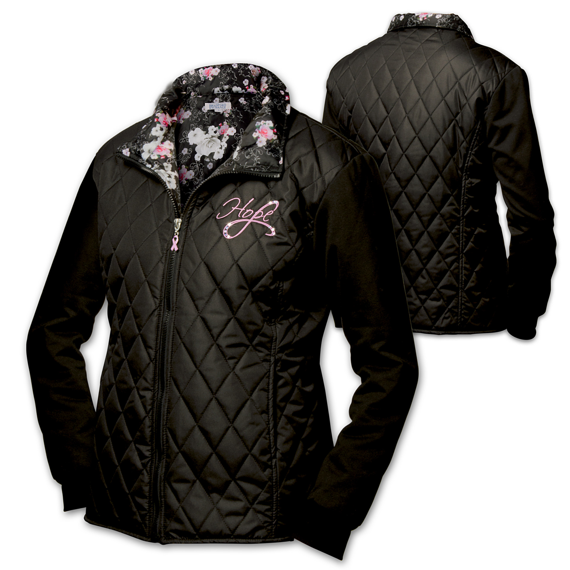 The Bradford Exchange Women's Jacket: Blossoms Of Hope Women's Jacket at Sears.com