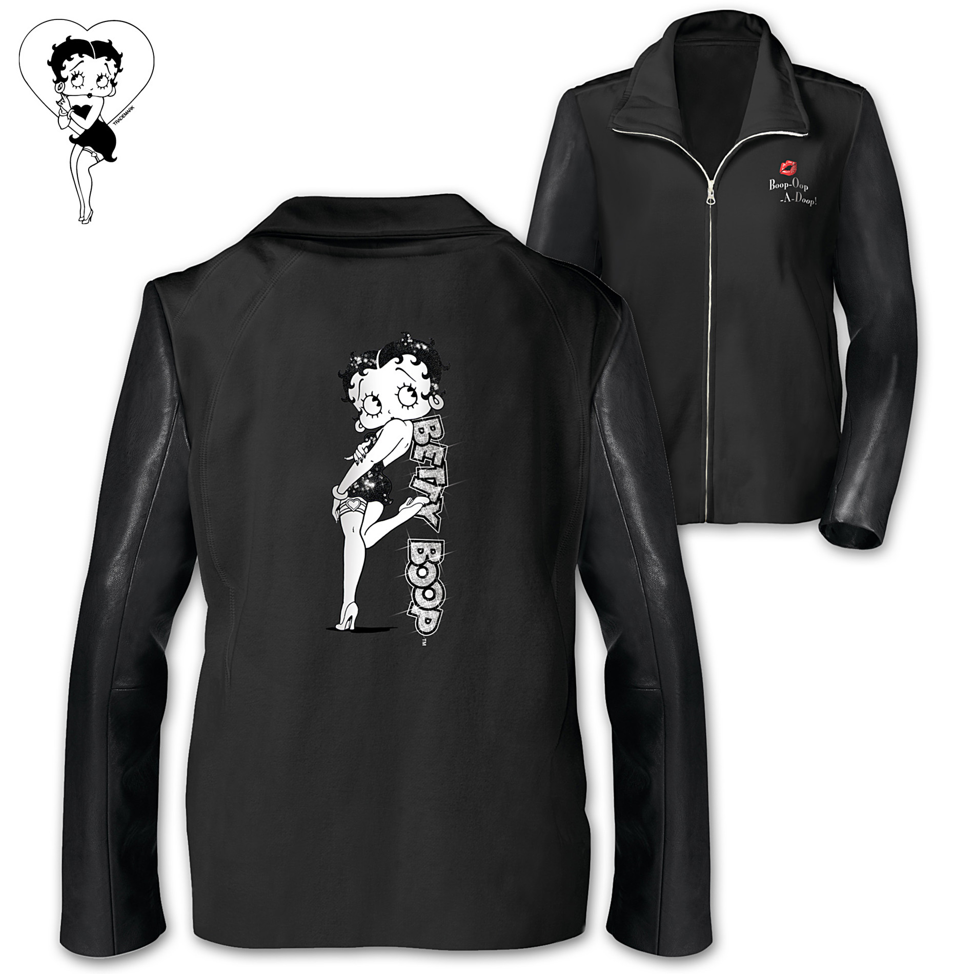 The Bradford Exchange Jacket: Timeless Style Betty Boop Women's Knit Jacket at Sears.com