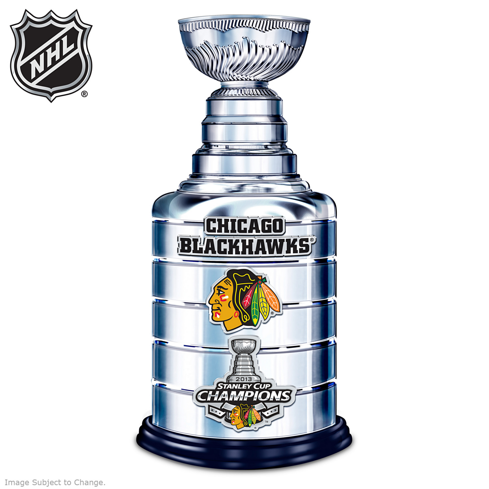 The Bradford Exchange Replica Foot Tall Chicago Blackhawks® 2013 Stanley Cup® Sculpture at Sears.com