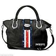 The Bradford Exchange Pat City Chic New England Patriots Handbag at Sears.com