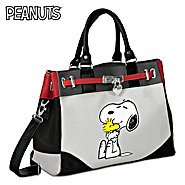 The Bradford Exchange PEANUTS Happiness Is Friendship Snoopy And Woodstock Handbag at Sears.com