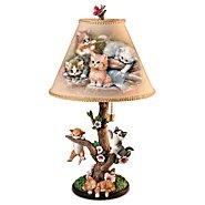 The Bradford Exchange Lamp: Country Kitties Lamp at Sears.com