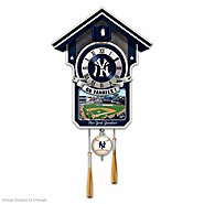 The Bradford Exchange Cuckoo Clock: Moments Of Greatness: The New York Yankees Cuckoo Clock at Sears.com