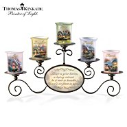 The Bradford Exchange Candleholders: Thomas Kinkade Warmth Of Home Candleholder Set at Sears.com