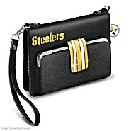 The Bradford Exchange Pittsburgh Steelers Downtown Chic Mini Handbag at Sears.com