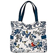 The Bradford Exchange Songs Of Spring Quilted Tote Bag Featuring James Hautman Songbird Art at Sears.com
