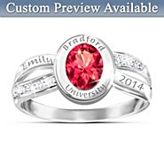 The Bradford Exchange Ring: High Class Personalized Genuine Diamond Ring at Sears.com