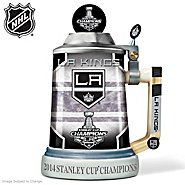 The Bradford Exchange Stein: Los Angeles Kings® 2014 Stanley Cup® Champions Stein at Sears.com