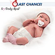 The Ashton Drake Galleries A Lovely Gift Is Little Lauren So Truly Real Lifelike Baby Doll at Sears.com