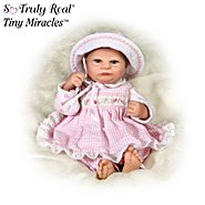 The Ashton Drake Galleries Tiny Miracles Harriet Baby Doll: So Truly Real at Sears.com