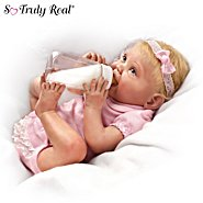 The Ashton Drake Galleries Tippy Toes Collectible Lifelike Baby Girl Doll: So Truly Real at Sears.com