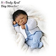 The Ashton Drake Galleries Tiny Miracles Deshawn African American Baby Boy Doll: So Truly Real at Sears.com