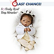 The Ashton-Drake Galleries Tiny Miracles Destiny Vinyl Lifelike African American Collectible Baby Doll at Sears.com