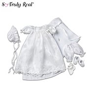 The Ashton-Drake Galleries So Truly Real Baby Doll Clothing: Christening Ensemble at Sears.com