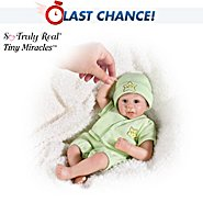The Ashton-Drake Galleries Tiny Miracles Twinkle Twinkle Musical Miniature Lifelike Baby Doll: So Truly Real at Sears.com