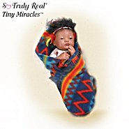 The Ashton-Drake Galleries Tiny Miracles Baby Eagle Wing Native American Style Newborn Baby Doll: So Truly Real at Sears.com