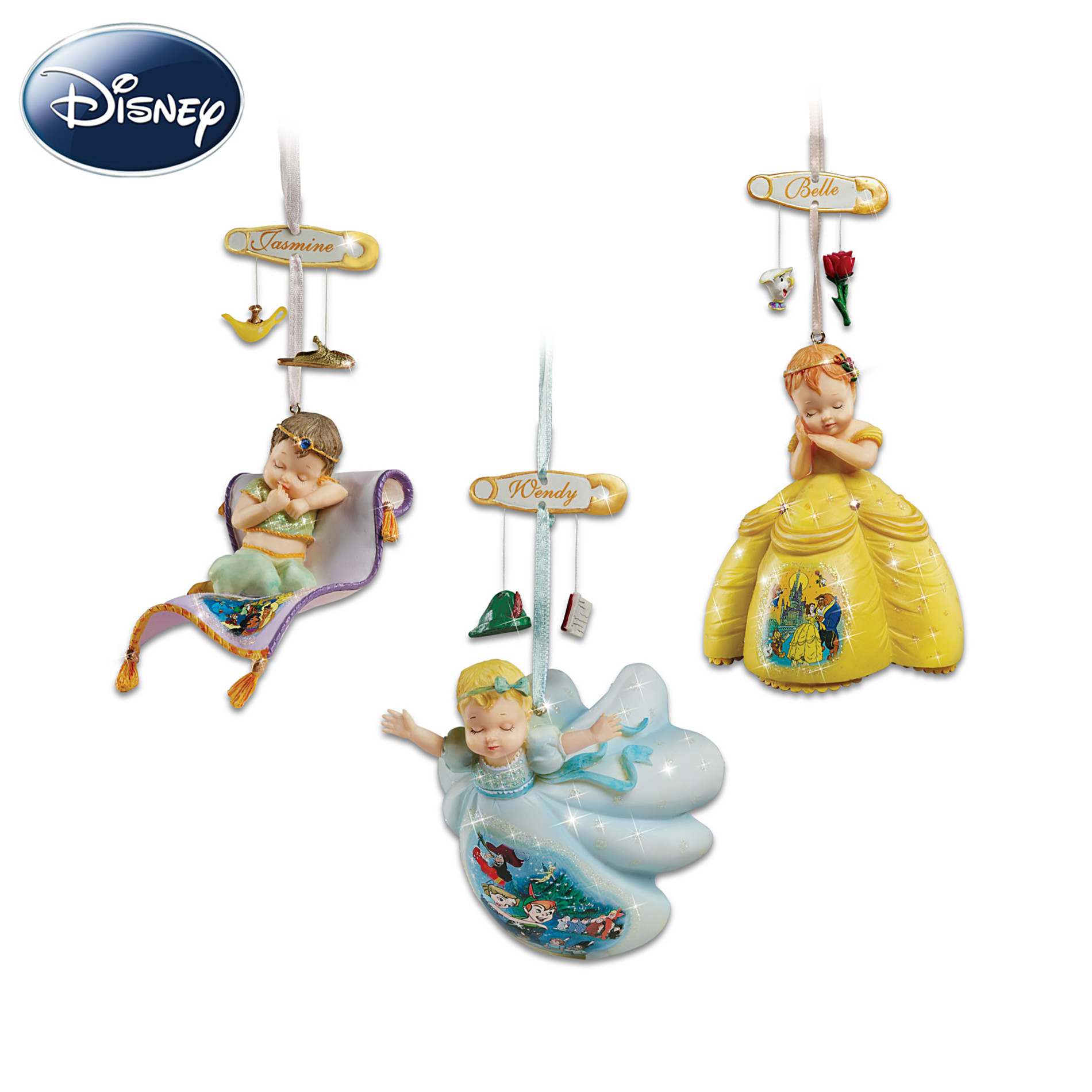 Hawthorne Village Disney Dreams Come True Christmas Ornament Set at Sears.com