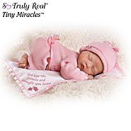 The Ashton-Drake Galleries God Kept His Promise And Brought You Home Lifelike Newborn Baby Doll: So Truly Real at Sears.com