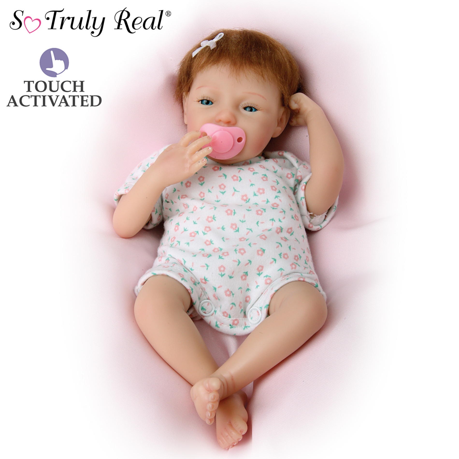 The Ashton-Drake Galleries Tiny Miracles Maggie Collectible Lifelike Miniature Breathing Baby Doll: So Truly Real at Sears.com