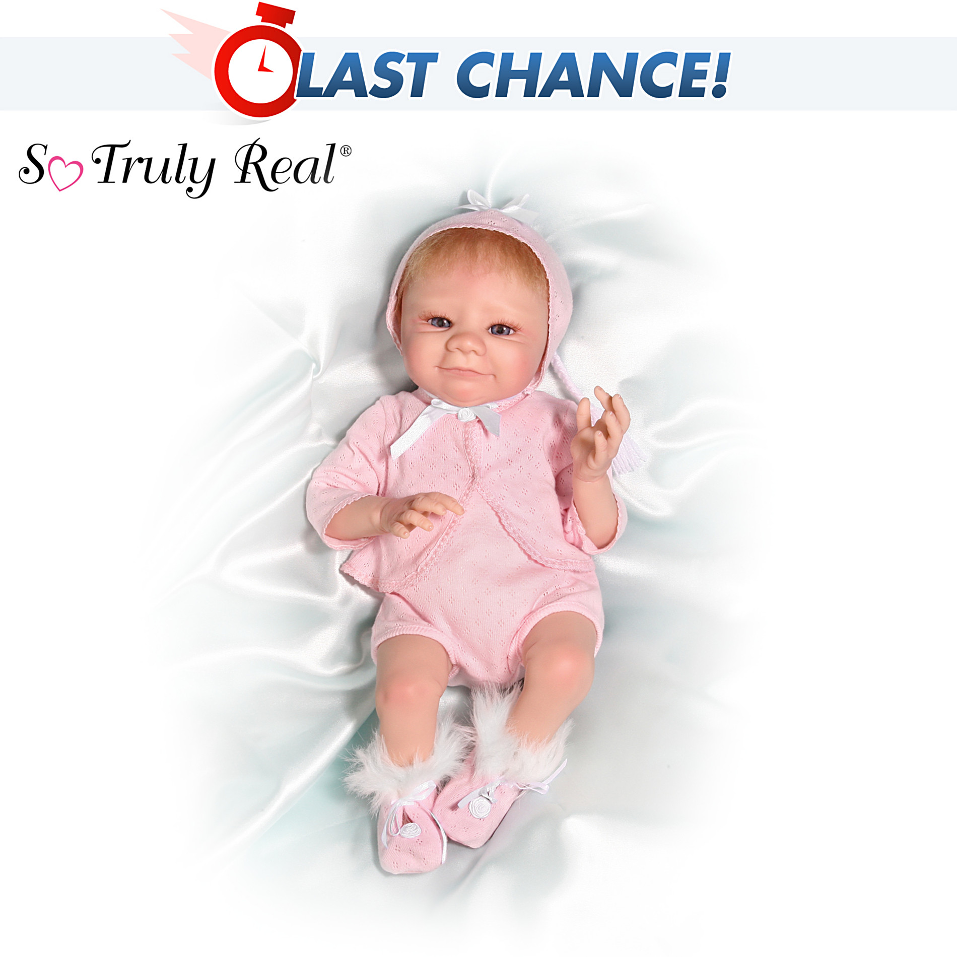 The Ashton-Drake Galleries So Lovable Collectible Lifelike Baby Doll: So Truly Real at Sears.com