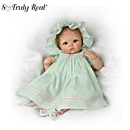 The Ashton-Drake Galleries So Truly Real Musical And Moveable Realistic Baby Doll: Dominique Doll at Sears.com