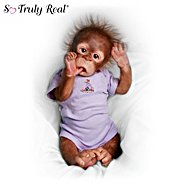 The Ashton Drake Galleries Little Risa Baby Orangutan Doll: So Truly Real at Sears.com