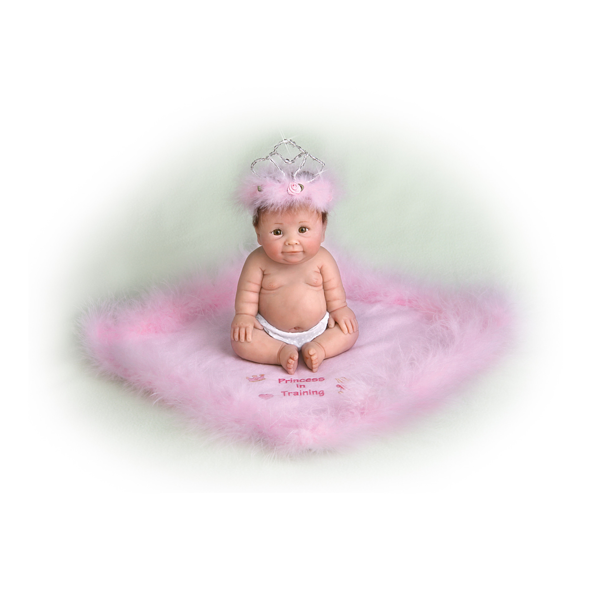 The Ashton-Drake Galleries Princess In Training Resin Doll: Miniature Baby Doll at Sears.com