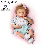 The Ashton-Drake Galleries Katie Kisses Touch-Activated Interactive Baby Doll: Talks, Cries & More at Sears.com