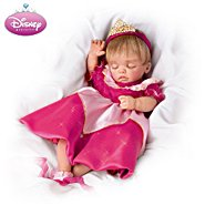The Ashton-Drake Galleries Lifelike Moving Baby Doll Wearing Disney Princess Character Dress: Always Dreams at Sears.com