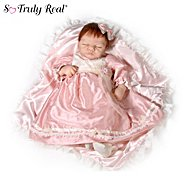 The Ashton-Drake Galleries Linda Webb So Truly Real Limited-Edition Silicone Emily Baby Doll at Sears.com