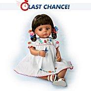 The Ashton-Drake Galleries Sofia La Mariposa Hispanic Baby Doll In Authentic Dress at Sears.com