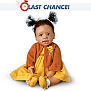 The Ashton-Drake Galleries Musical Religious African-American Baby Doll: Imani at Sears.com