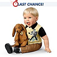 The Ashton Drake Galleries The Elvis Inspired Hound Dog Baby Doll: Comes With a Free Musical Plush Dog at Sears.com