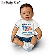 The Ashton Drake Galleries President Barack Obama Commemorative Baby Doll: Obama, Birth Of Hope at Sears.com