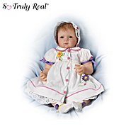 The Ashton-Drake Galleries The Dressed To Delight 21-Inch Baby Girl Doll at Sears.com