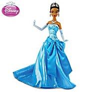 "The Ashton-Drake Galleries Disney ""Princess Tiana In Blue Ballgown"" Articulated Fashion Doll at Sears.com"