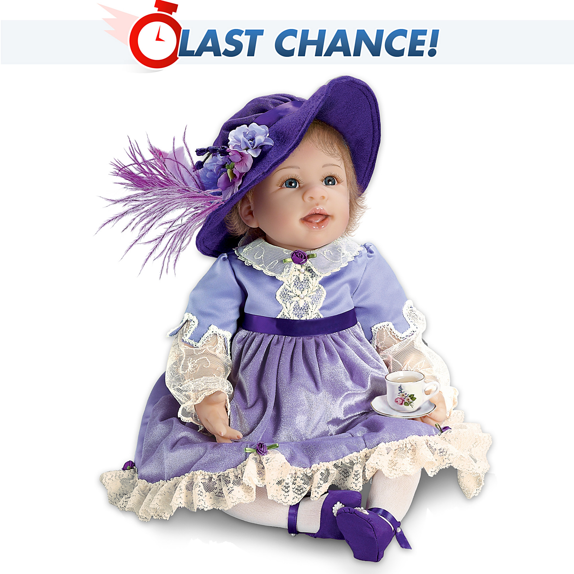 The Ashton-Drake Galleries Isabella: 20-Inch Lifelike Baby Girl Doll at Sears.com
